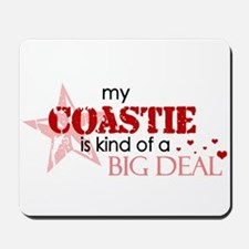 My coastie is kind of a BIG D Mousepad