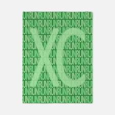 XC Run Run Green Twin Duvet