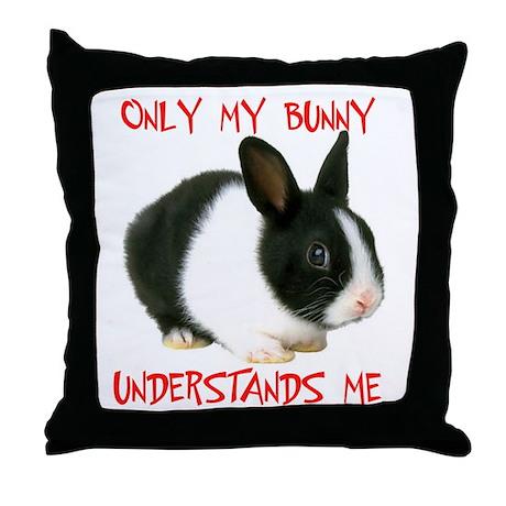 MY BUNNY Throw Pillow