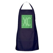 XC Run Run Green Apron (dark)