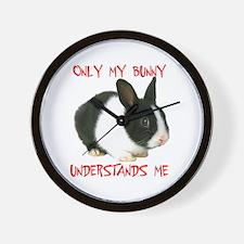MY BUNNY Wall Clock