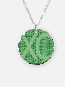 XC Run Run Green Necklace