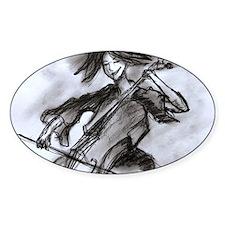 cellist Decal