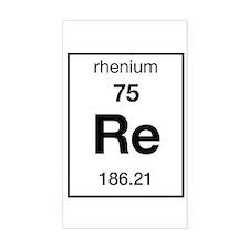 Rhenium Rectangle Decal