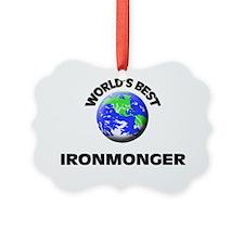 World's Best Ironmonger Ornament