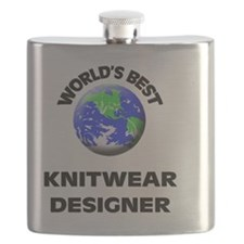 World's Best Knitwear Designer Flask
