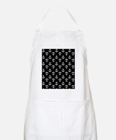 Black and White Anchors Apron