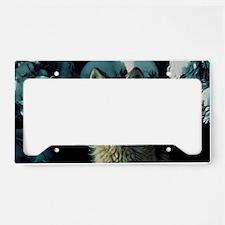 Snow Wolf License Plate Holder