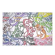 skateboards shoulder bag  Postcards (Package of 8)