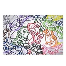 skateboards clutch side A Postcards (Package of 8)