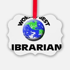 World's Best Librarian Ornament