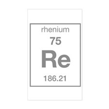 Rhenium Rectangle Decal