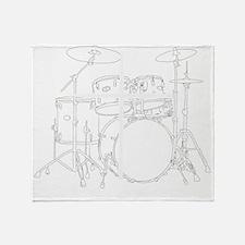 Christian Drummer Throw Blanket