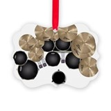 Drums Picture Frame Ornaments