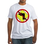 no Left Turns Fitted T-Shirt