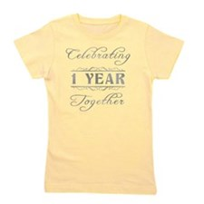 Celebrating 1 Year Together Girl's Tee