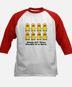 All Your Ducks in a Row Kids Baseball Jersey