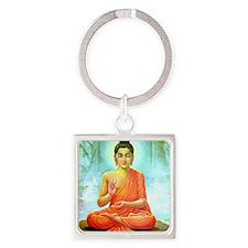 Big Buddha Square Keychain