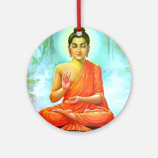 Big Buddha Round Ornament