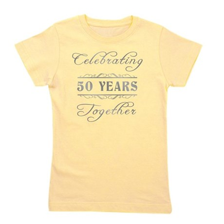 Celebrating 50 Years Together Girl's Tee