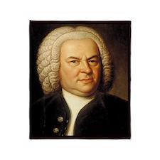 Johann Sebastian Bach Throw Blanket