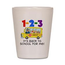 123 Back To School Shot Glass