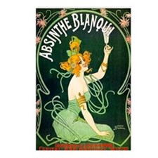 Absinthe Blanqui Postcards (Package of 8)