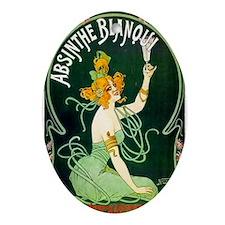 Absinthe Blanqui Oval Ornament
