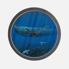 Woven Blanket_1175_H_F Wall Clock