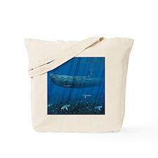 Square Canvas Pillow Tote Bag
