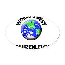 World's Best Nephrologist Oval Car Magnet