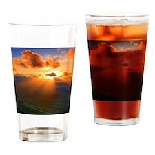 Inspirational heaven sunset Drinking Glass
