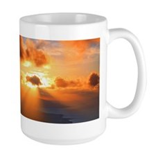 Inspirational heaven sunset Mug