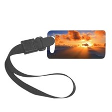 Inspirational heaven sunset Luggage Tag