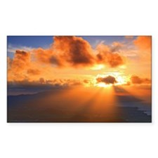 Inspirational heaven sunset Decal