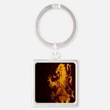 gryphon Square Keychain