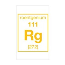 Roentgenium Rectangle Decal
