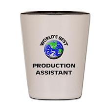 World's Best Production Assistant Shot Glass