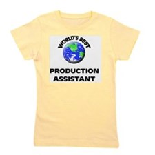 World's Best Production Assistant Girl's Tee