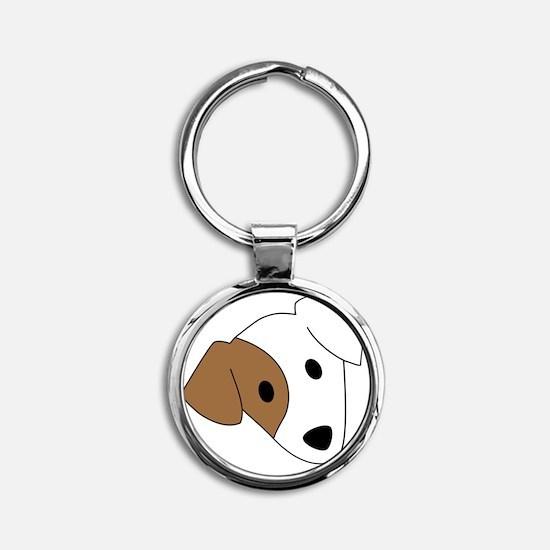 Georgia Jack Russell Rescue, Adopti Round Keychain