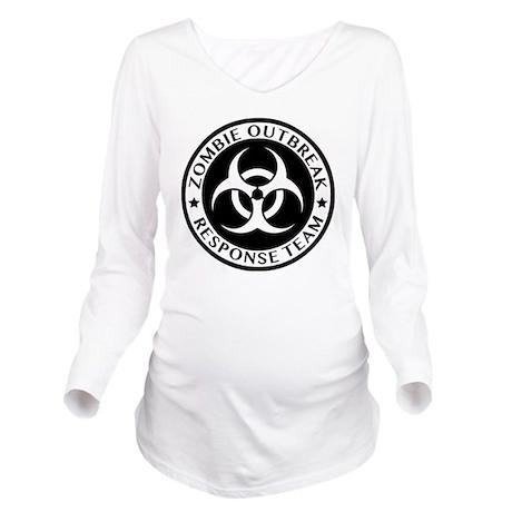 zombieRespTeam1C Long Sleeve Maternity T-Shirt