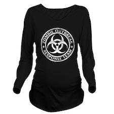 zombieRespTeam2D Long Sleeve Maternity T-Shirt