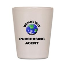 World's Best Purchasing Agent Shot Glass