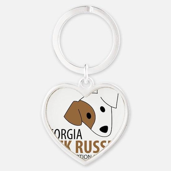 Georgia Jack Russell Rescue, Adopti Heart Keychain