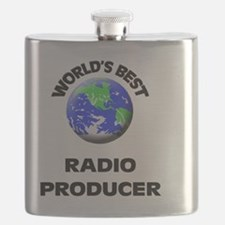 World's Best Radio Producer Flask