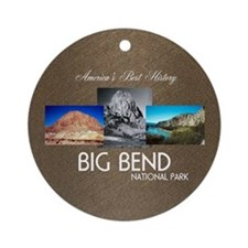 Big Bend Round Ornament