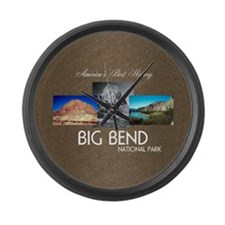 Big Bend Large Wall Clock