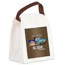 Big Bend Canvas Lunch Bag
