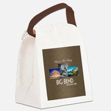 Big Bend Canvas Lunch Bag