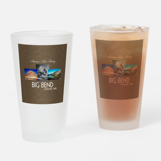 Big Bend Drinking Glass